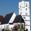 Schloss And Kirche Arbing, Upper Austria, Austria