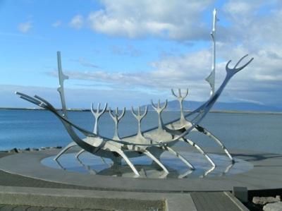 Seafront And Voyager Reykjavik