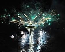 Seattle - Space Needle - 2011 New Year Celebration