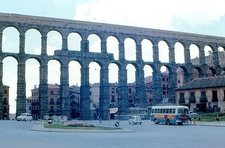 Segovia - Roman Aqueduct In Spain