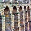 Segovia Roman Aqueduct - Spain