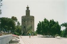 Seville Torre Del Oro - Spain Andalusia