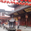 Jade Buddha Temple During Spring Snows