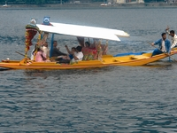 Shikara paseo en barco