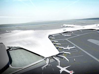 Animation Shenzhen International Airport