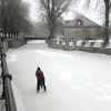 Skate On The Frozen Canal