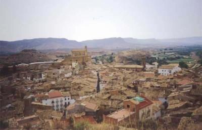 Albalate Del Arzobispo Town