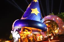 Sorcerers Hat At Disneys Hollywood Studios By Eddison Moreno