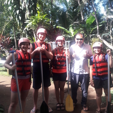 Ayung River Rafting Photos