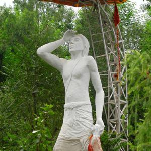 Statue Of Baba Jitto