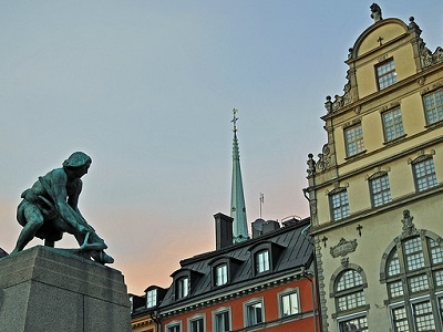 Statue Of Engelbrekt At Kornhamnstorg