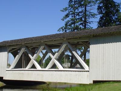 Stayton  Jordon  Bridge  Stayton  Oregon Side