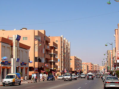 Street View From Laayoune