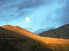 Sunset And Moonrise At Leh