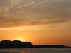 Sunset Over  Colwyn  Bay