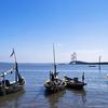 Suramadu Bridge & Boats