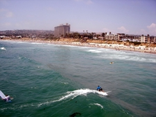 Surfers At Pacific Beach