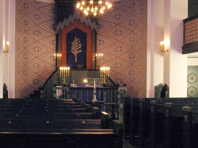 Interior Of The Trondheim Synagogue