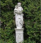 San Borbála Escultura