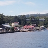 View Of Strahan From A Boat In Macquarie Harbour