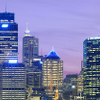 View Of Sydney From Jeffrey Street At Dusk
