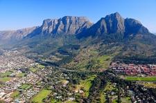 Table Mountain Overshadowing Cape Town SA