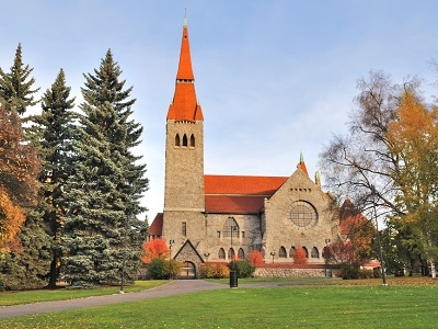 Tampere Cathedral - Tampere Finland