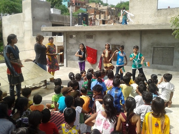 Teaching Volunteer Work India Photos