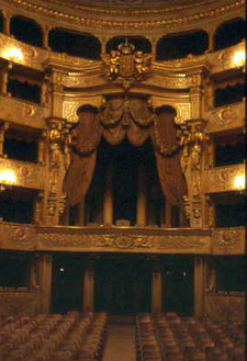 Interior Of The Teatro