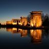 Temple Of Debod In Madrid