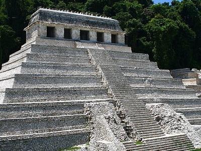 Temple Of The Inscriptions - Chiapas - Mexico