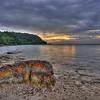 Tenggol Island - Orange Rock Sunset