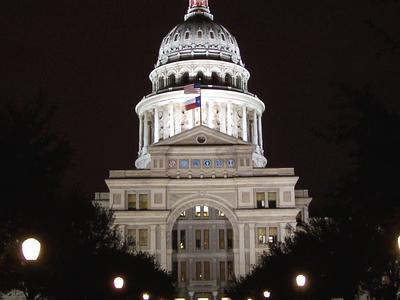 Texas  Capitol Night