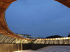 The Amphitheatre At Dhoby Ghaut Green At Dusk