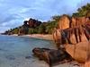 The Beach Of Anse Source D'Argent On La Digue