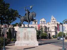 The El Cid Sculpture