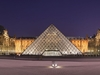 The Louvre Palace And The Pyramid