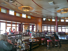 The Observation Bar Lounge At RMS Queen Mary