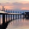 Pier in Plock