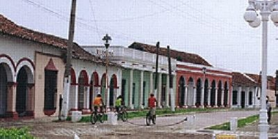 The Town Of Tlacotalpan