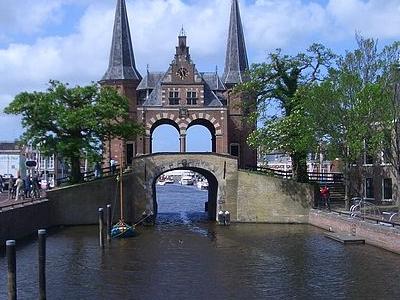 The Waterpoort In Sneek - Netherlands