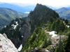 Tinkham Mountain At Glacier - USA
