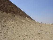 Tourists Visiting Snofru Red Pyramid