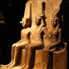 Statue Of Ramesses II With Amun And Hathor