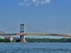 Triboro & Hell Gate Bridges Over East River NY