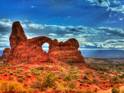 Turret Arch - UT Arches NP