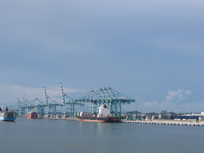 The Port Of Tanjung Pelepas