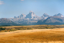 Tetons From Idaho