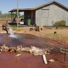 Hot Water Bore Hole Of Thargomindah