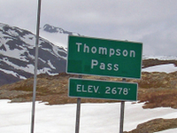 Thompson Pass